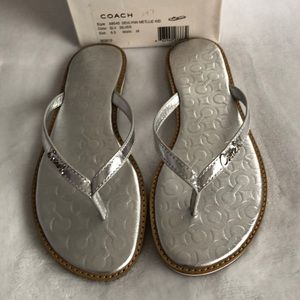 Like new Coach sandals